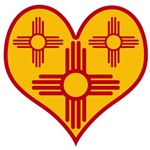 New Mexico Zia Heart