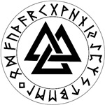 Triple Triangle Rune Shield