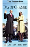 Day of Change Inauguration Front Page
