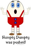 Humpty Dumpty t-shirts & gifts