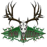 Bow hunter deer skull