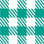 Stylish Green Checkerboard