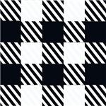 Bold black blocks