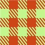 Brick Red and Green Picnics