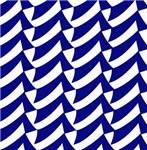 Blue and white flags