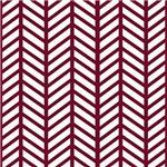 Maroon Weaved Print