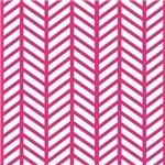 Hot Pink Weaved Stripes