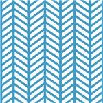 Cornflower Blue Chevron Weave