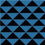 Black and Blue Triangles