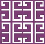 Purple Spanish Tile