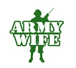 Army Wife T-Shirts. Show your proud for your soldi