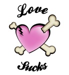 Love Sucks T-shirts. Get the original LOVE SUCKS t