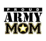 Proud Army MOM T-shirts. T-shirts and gifts fot th