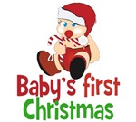 Baby's First Christmas T-shirts and gifts. The per
