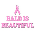 Bald is Beautiful T-shirts. Lost your hair due to