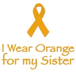 I WEAR ORANGE FOR MY SISTER