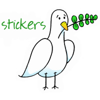 THE PEACE PLACE Stickers