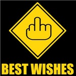 Best Wishes - Middle Finger