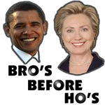 Obama Clinton - Bro's Before Ho's 2