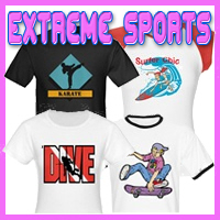 Extreme Sports Customized T-Shirts & Gifts