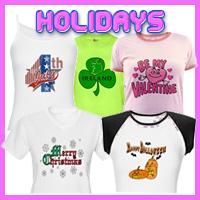 Holiday T-Shirts, Keepsakes, & Gifts