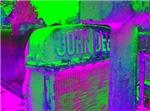 John Deere neon green