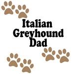 Italian Greyhound Dad