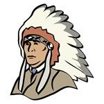 Native American With Headdress