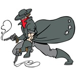 Cowboy Bandit Cartoon