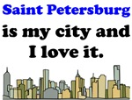 Saint Petersburg Is My City And I Love It