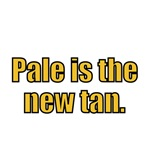 Pale is the tan.