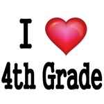 I LOVE 4TH GRADE