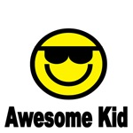 AWESOME KID. WITH SMILEY FACE