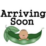 Arriving Soon. African-American Baby