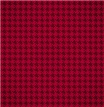 Red Houndstooth Pattern