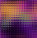 Purple Stamped Square Metal Look