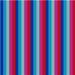 Bold Pink and Blue Stripes