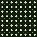 Green Diamond Shapes Pattern