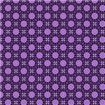 Purple India Inspired Circles Pattern
