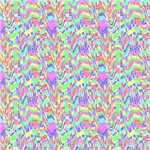 RaPastel Digital Squares Scribble Abstract