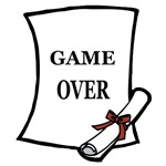GAME OVER DIPLOMA