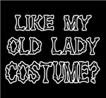Funny Halloween Old Lady Costume