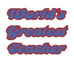 World's Greatest Teacher Gifts & T-shirts
