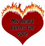 Burning Heart Valentine