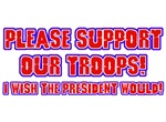Patriotic Support Our Troops Gifts & Tees