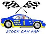 Little Stock Car Fan