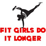 Fit Girls do it longer (Logo)
