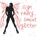 I sweat Glitter