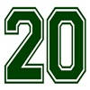 20 GREEN