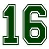 16 GREEN
